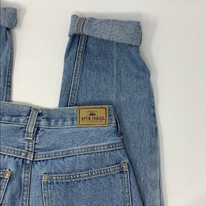 Open trials authentic stonewashed highwaisted jean
